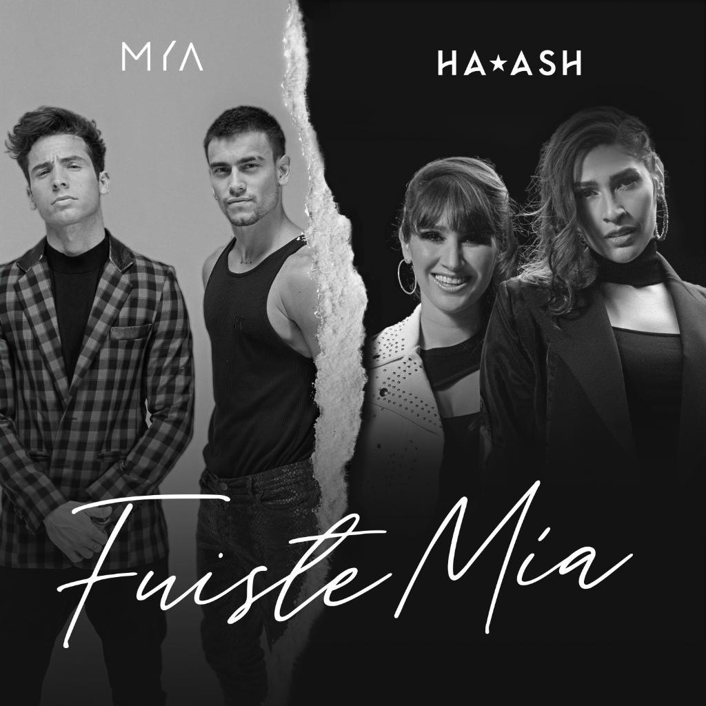 """¿Cómo será la colaboración de @mya_musica y @haashoficial? No te despegues de tu radio para escuchar antes el estreno de  """"Fuiste Mía"""".  🎶"""