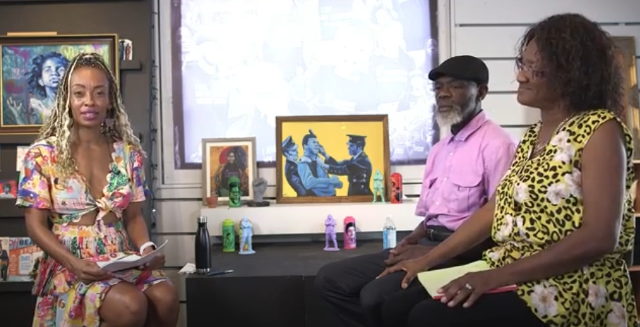 """Because we poured out love, they gave love back to us.""   Watch our own @Alanah_ACLU interview Ronald Ailsworth and Betty Toussaint Ailsworth about what the Black Panther Party can teach us about the fight for racial justice today.  #BlackHistoryMonth"