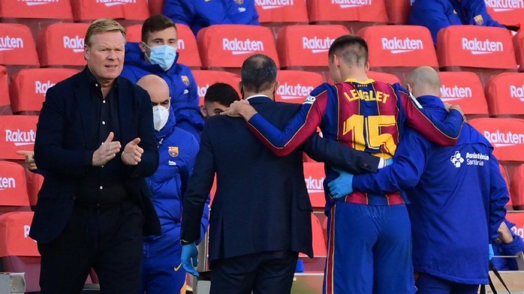 #Deportes El entrenador del FC Barcelona Ronald Koeman explicó este martes que