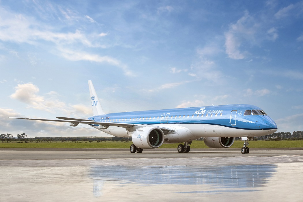 Primer Embraer 195-E2 de KLM.