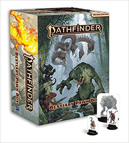 Pathfinder Bestiary Pawn Box (P2) for Pathfinder Second Edition  20% off   4 TGDrepost
