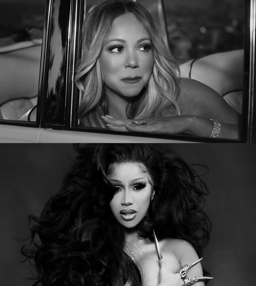 "Pop Crave on Twitter: ""Mariah Carey asks Cardi B what her parents think of her smash hit ""WAP"" in a conversation for @InterviewMag.… """