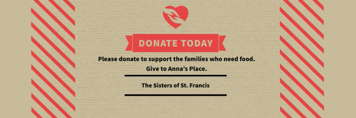 test Twitter Media - PA continues to struggle with a growing number of families who do not have enough to eat. Please give to Anna's Place to help those who need it get the food they need. The Sisters of St. Francis thank you. https://t.co/uYijJkHZuq #PAhunger #SistersofStFrancis #Annasplace https://t.co/PGv4odolAK