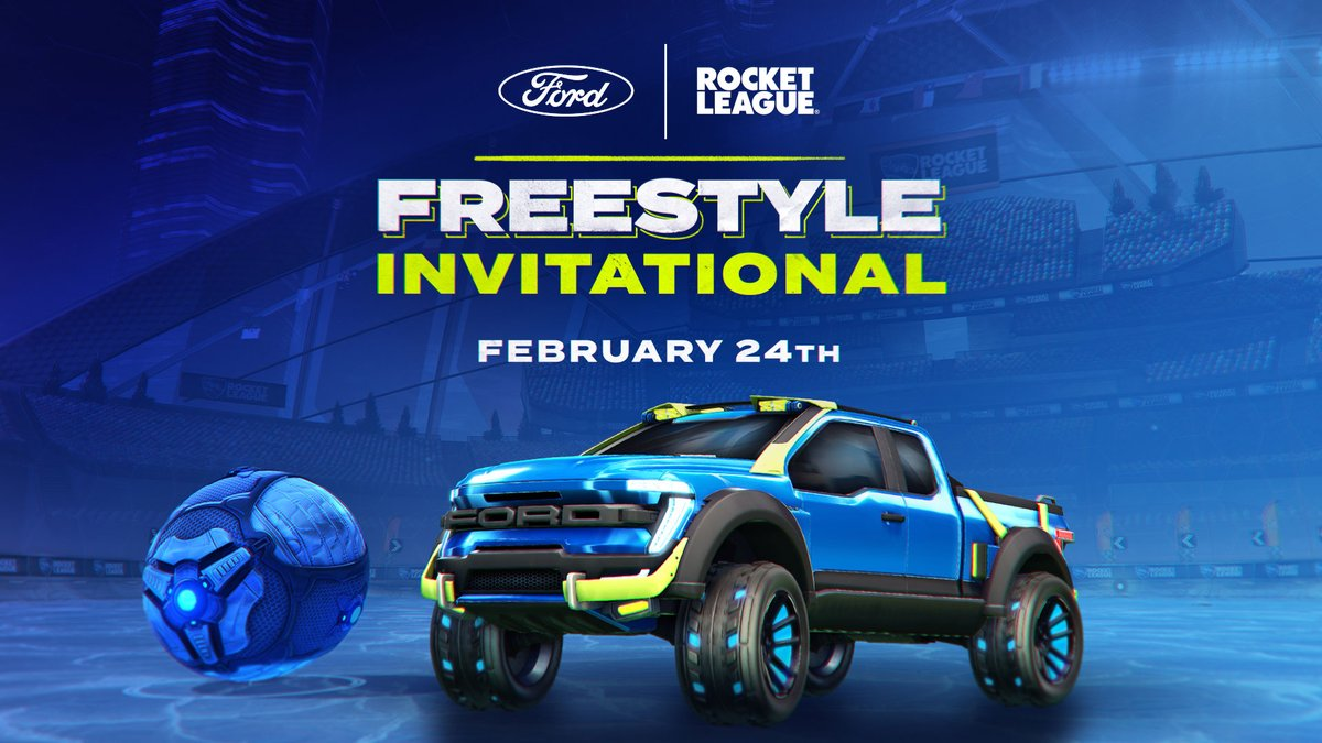 The Ford + Rocket League Freestyle Invitational will be flip-resetting its way onto the pitch on February 24 and February 28! Want to learn more about how the event will work? Check out our primer below for all the info you need 👇   📰: