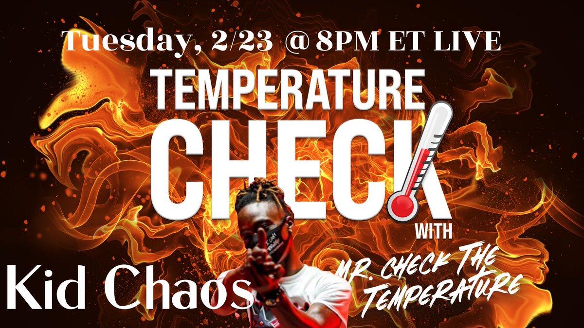 going LIVE w/ @KidChaosMIA at 8PM ET  @damnimwild @BarsnBrunch @Ba4real100 @QUEENBANKSZYy @brcoroner @DaBlackCompass @LTBRpodcast @Restore__Order @BattleOnTheRoof @brilbloggers @NewEraPodcast1  #retweet #MrCheckTheTemperature