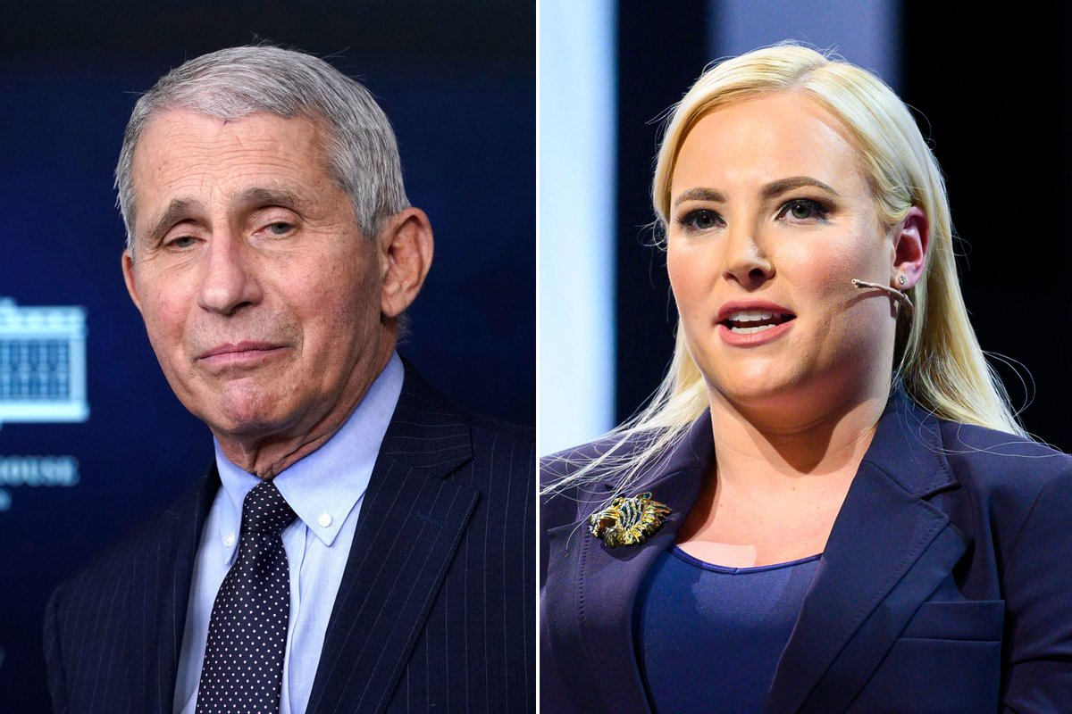 The View Host @MeghanMcCain slams Dr. Fauci over Vaccine roll-out. I cant say I disagree with firing Anthony Fauci but for multiple other reasons than the vaccine #FireFauciNow  #FireFauci