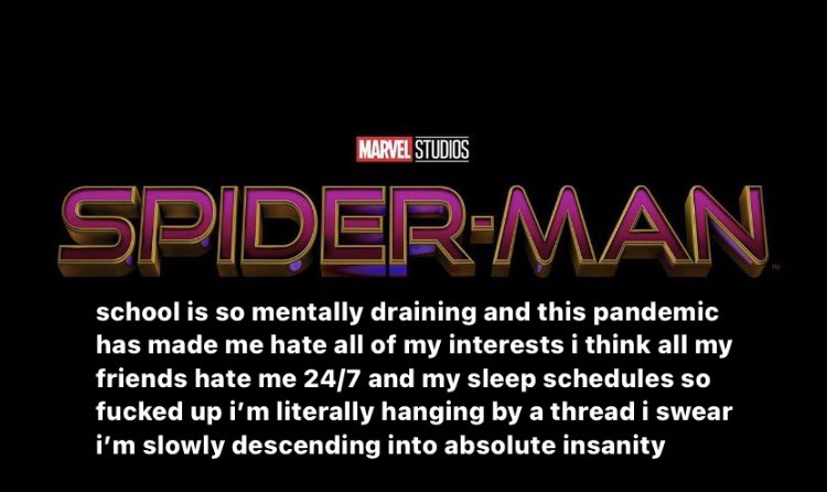 RT @ivyfiIms: the new spider-man title wtf?? https://t.co/48sPjyWcOF