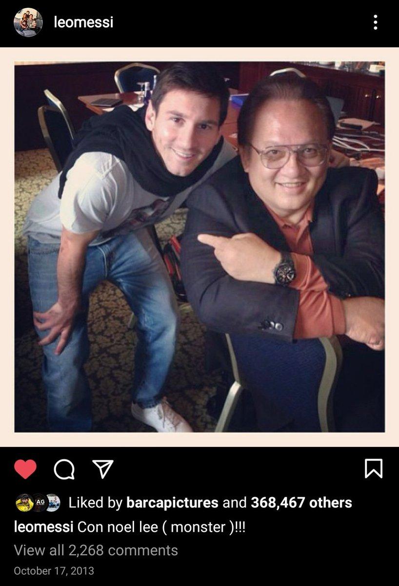 Replying to @Bargcelona10: El Instagram de Messi de 2013 tiene que ser declarado patrimonio de la nación