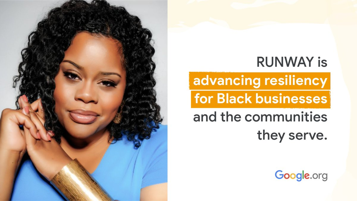 National financial innovation firm RUNWAY is utilizing support from our $5M grant to @commonfutureco to advance resiliency for Black businesses & communities. Learn more about CEO Jessica Norwood and how her firm is working to close the racial wealth gap: