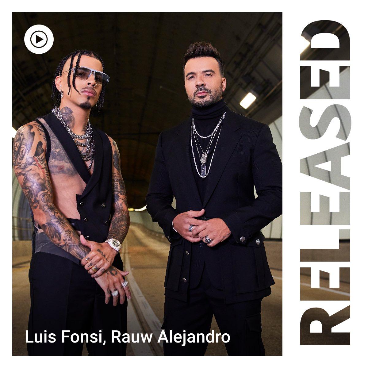 """¡Argentina! Estamos en la portada Released de @youtubemusic con """"VACÍO"""".  ¿Quién ya vio el video? @rauwalejandro"""