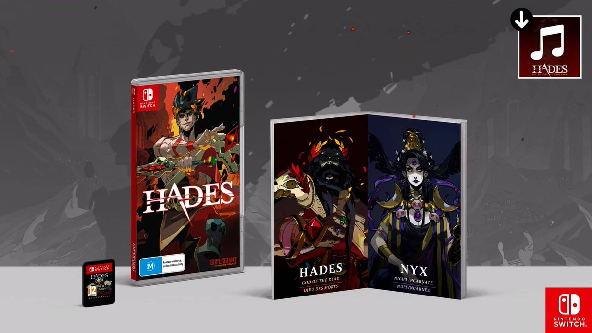 Hades: Pre-Order (Nintendo Switch) is $35 16  #Games #Game  #Electronics #BestBuy