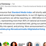 Image for the Tweet beginning: IPG Mediabrands Rejoins Standard Media