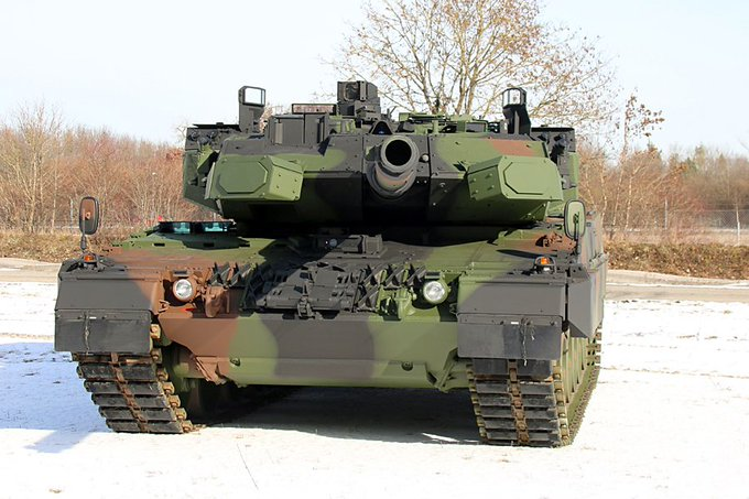 Leopard 2: Τα γερμανικά άρματα μάχης εξοπλίζονται με συστήματα ενεργητικής προστασίας Trophy
