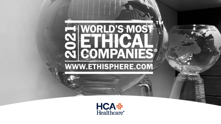 We are proud to be a part of @HCAhealthcare, our co-owner alongside @mhmstx, recognized for the 11th time by @ethisphere as one of the #WorldsMostEthicalCompanies! Thank you to all of the colleagues and #healthcareheroes who made this possible and provided #carelikefamily.