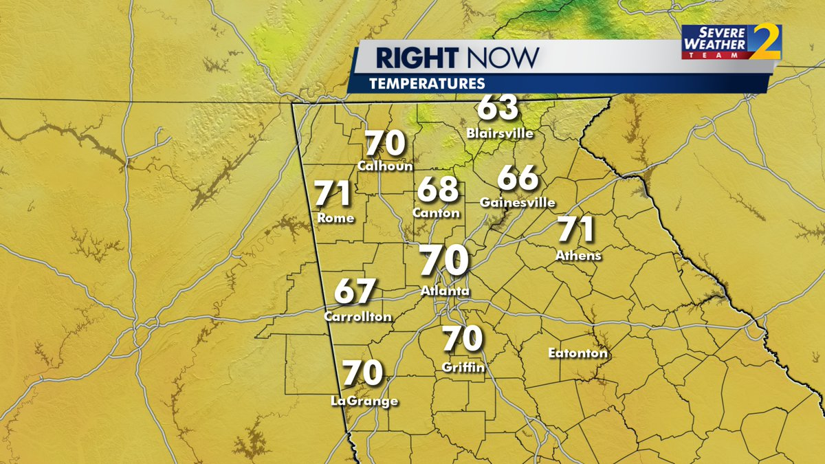 Atlanta just hit 70° for the first time in 88 days! (Nov. 27)