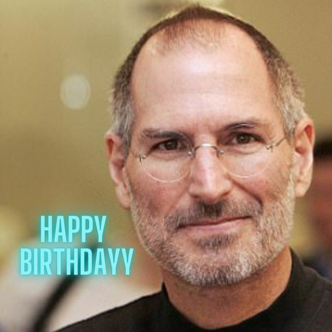 Happy Birthday to business and technology icon...Steve Jobs...!!!