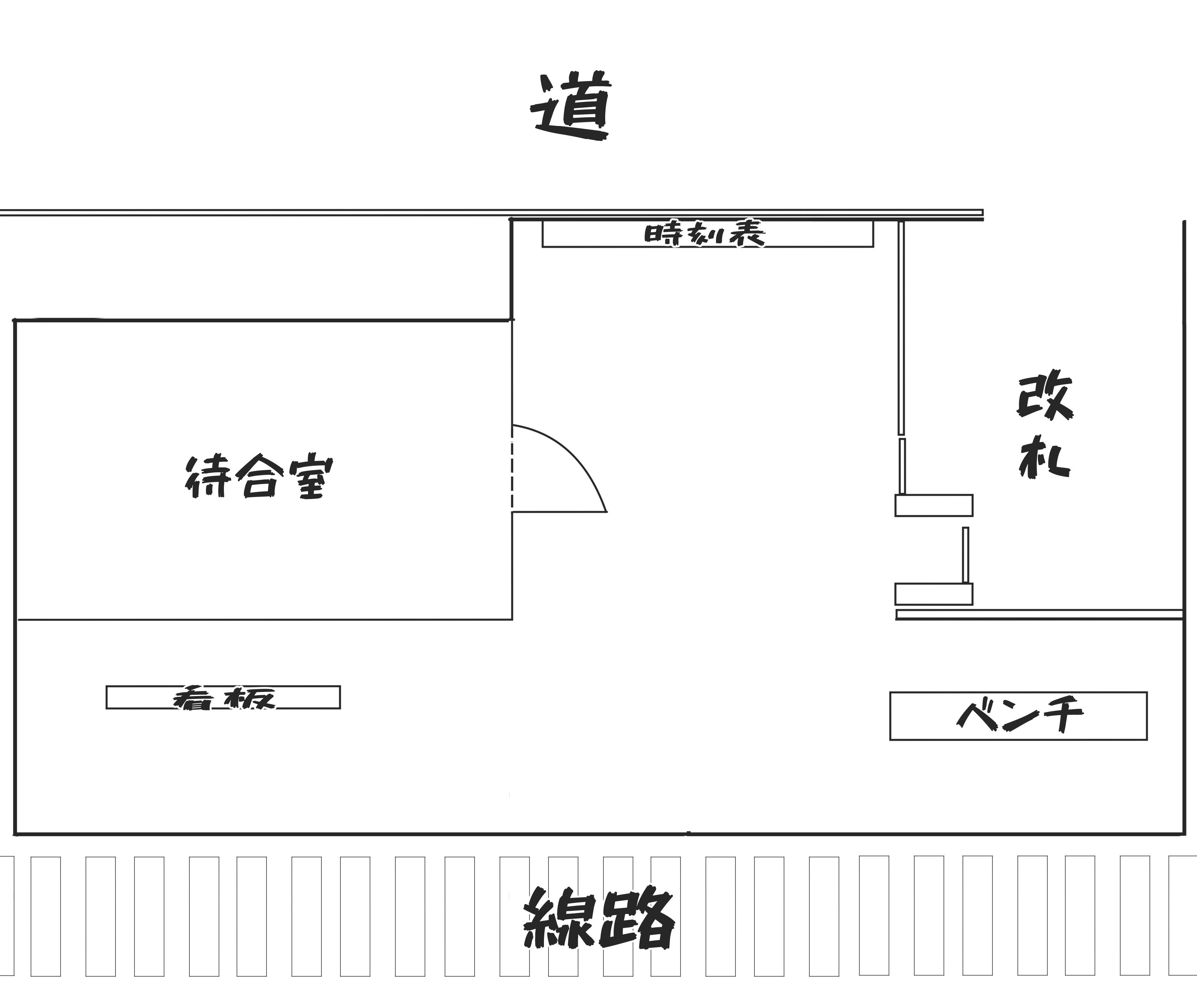 駅構内簡易マップ