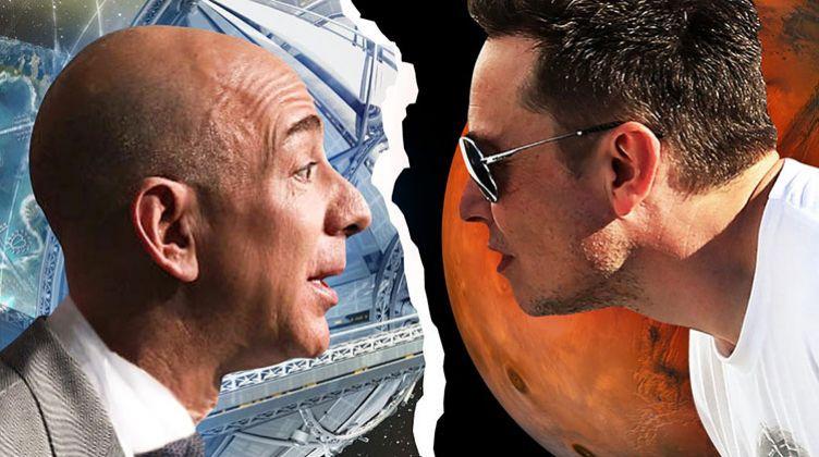 بوابة الوفد إيلون ماسك vs جيف بيزوس.. صراع العمالقة الكبار في الأرض والفضاء
