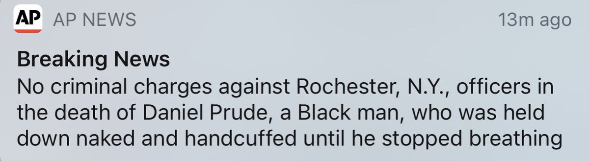 When you get alerts like this, over and over, feel a punch to your gut, everytime, and are expected to keep functioning normally.
