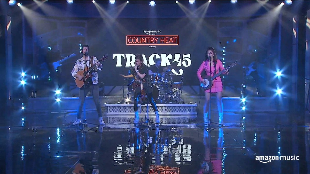 "Catch this exclusive performance from @track45 of ""Met Me Now,"" recorded live from CRS, and let us know your favorite song of theirs below 👇"