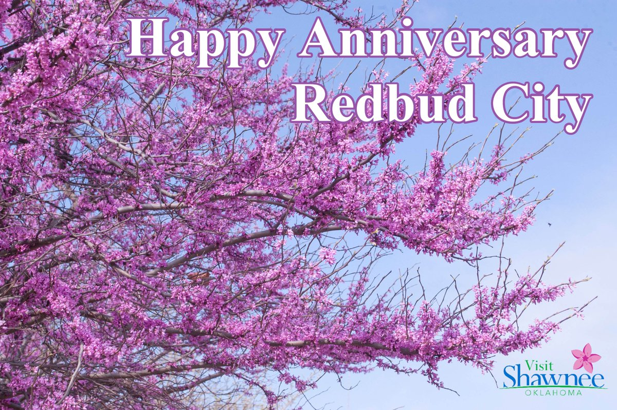 Happy Anniversary #Shawnee!! Now 80 years as the Redbud City of Oklahoma.  Reflecting on the designation and where to see the State Tree around town:  https://t.co/AZukkp992O https://t.co/ur57nM2TQO