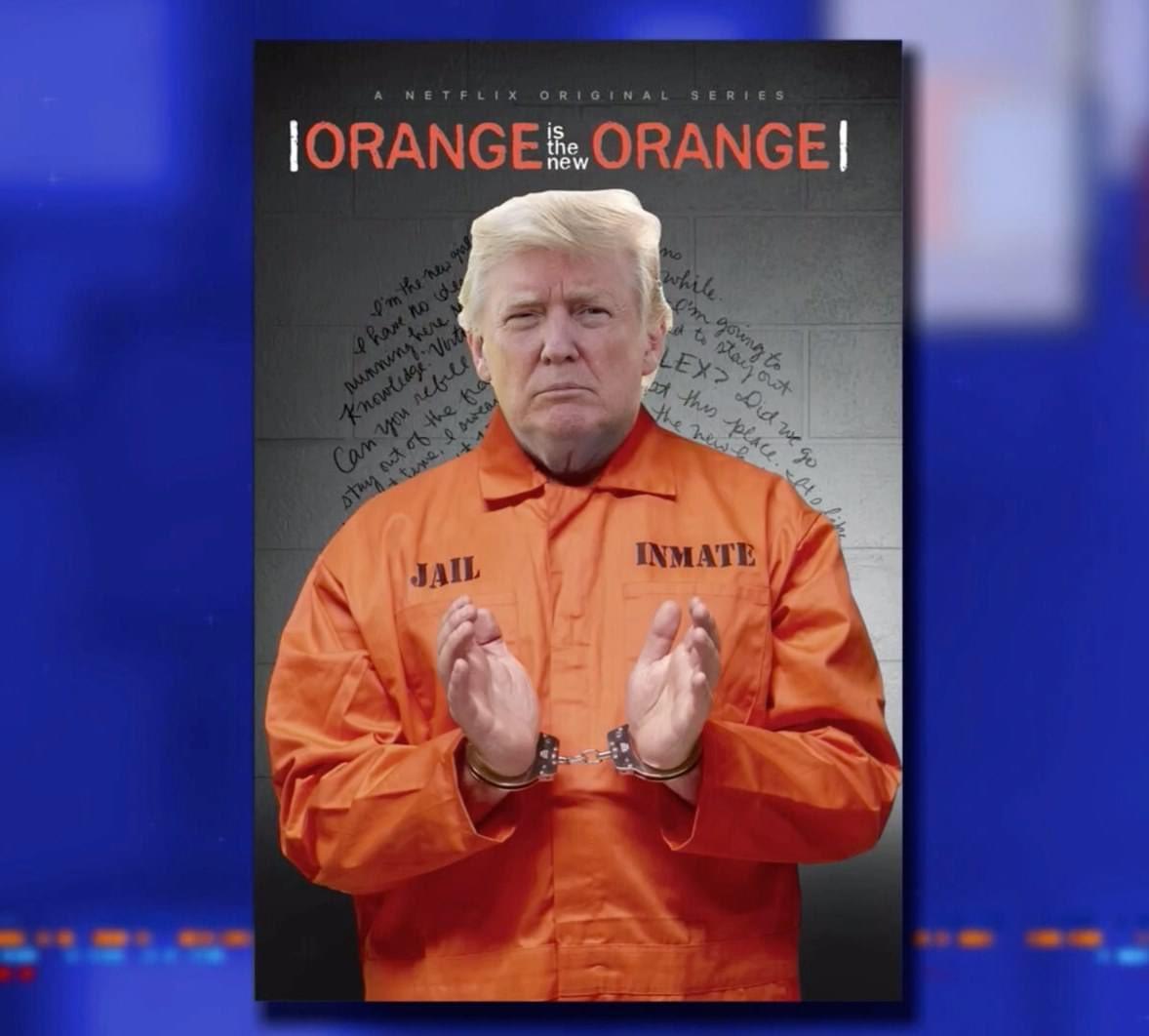 #OrangeIsTheNewOrange #LockHimUp #ByeDon #TrumpCrimeFamily #TrumpTaxReturns 🤡