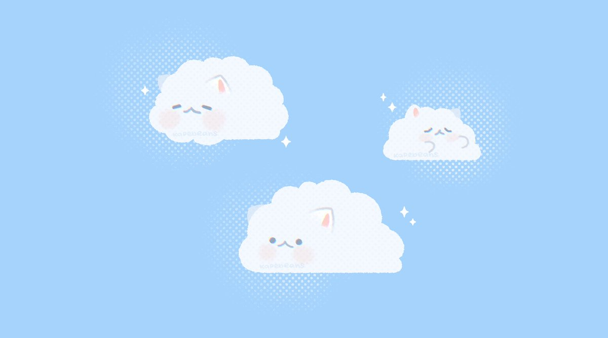 Cloudy with a chance of hairballs ☁️