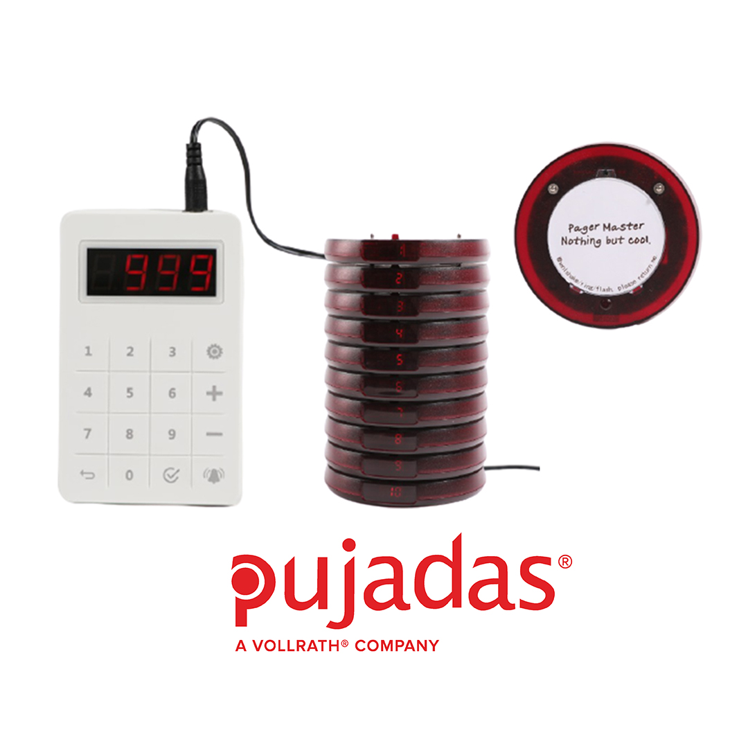 Pujadas wireless pagers can help you manage your customers and queues safely, discreetly and efficiently, while maintaining social distancing rules. An ideal solution for managing click & collect orders. Learn more here:- buff.ly/2LGpeF7