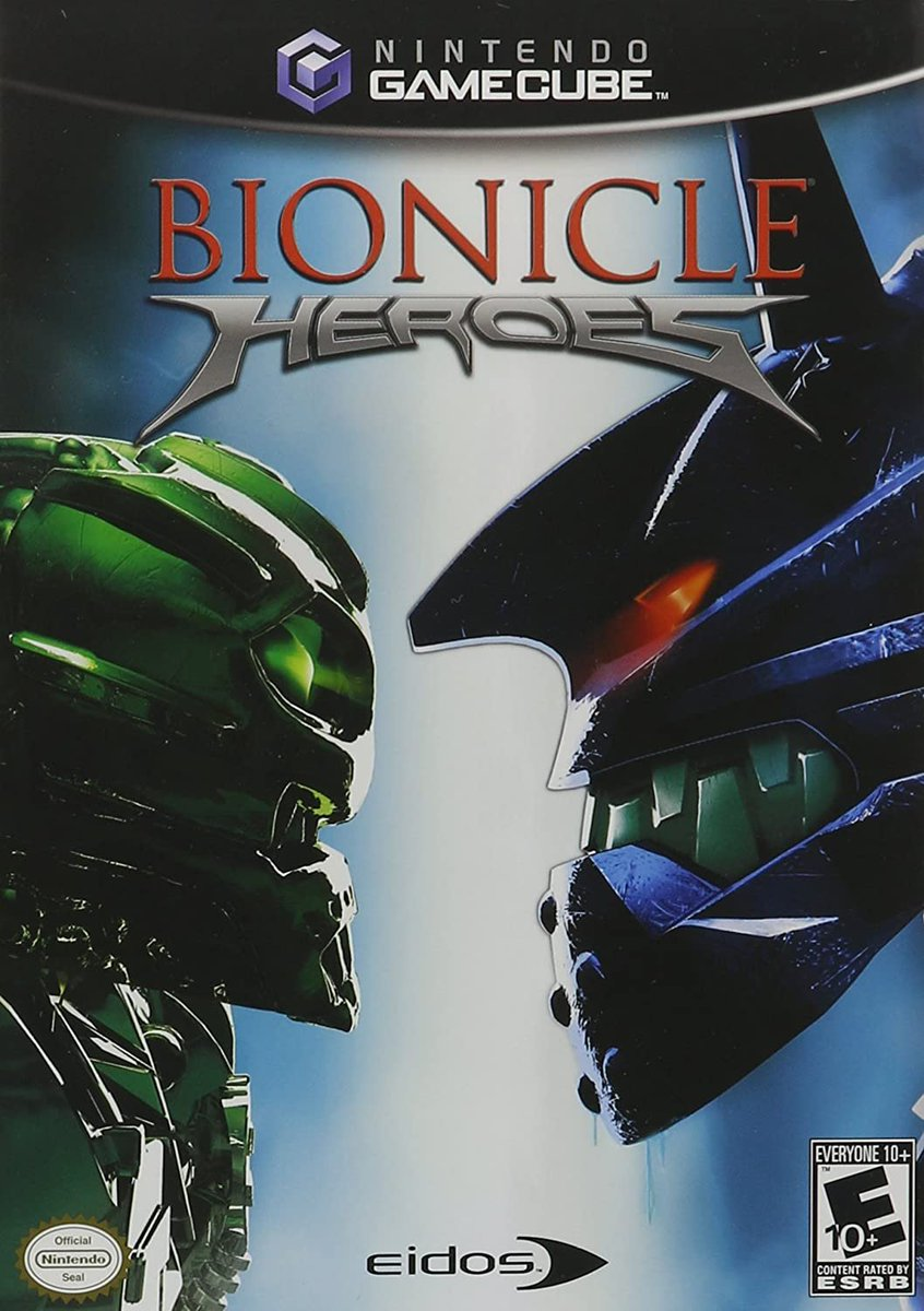 Bionicle Heroes (GameCube) is $19.99 brand new on Amazon: 16 shipped and sold by Amazon