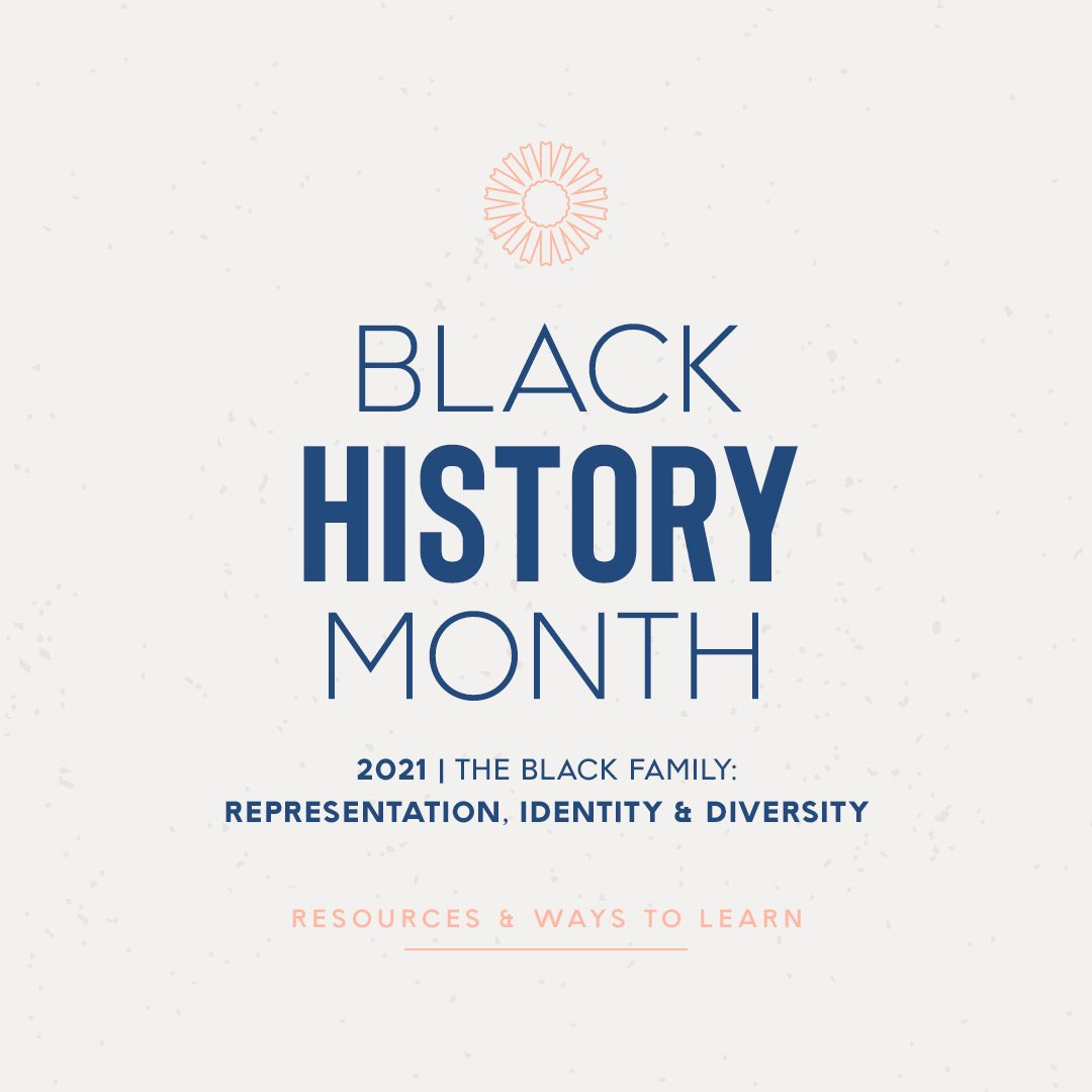We've compiled some #BlackHistoryMonth resources to suggest ways to listen & learn about the experiences, accomplishments & history of Black Americans. We encourage you to further your knowledge and engage in conversation with your friends & family on the significance of #BHM