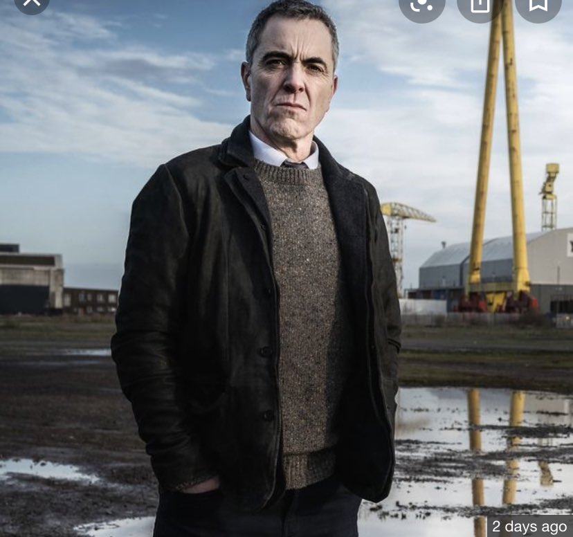 Had read a few negative reviews of #Bloodlands - just finished first Ep and thought it was very good. That doctor / Queens lecturer will be popping up again...and @TheMACBelfast was looking well https://t.co/AZUFdSNNat