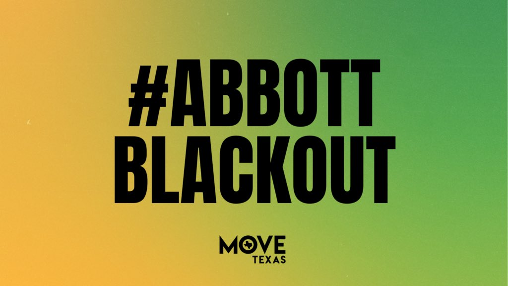 A deep freeze combined with deregulated, non-weatherized plants and gas lines, left millions without water or electricity — and we continue to go without answers from the politicians who were elected to serve us.  #AbbottBlackout