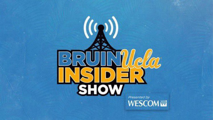 Hear from @IAmMargzetta and @CoachMickCronin on tonight's Bruin Insider Show, presented by Wescom.  5pm PT 🎙:   #GoBruins