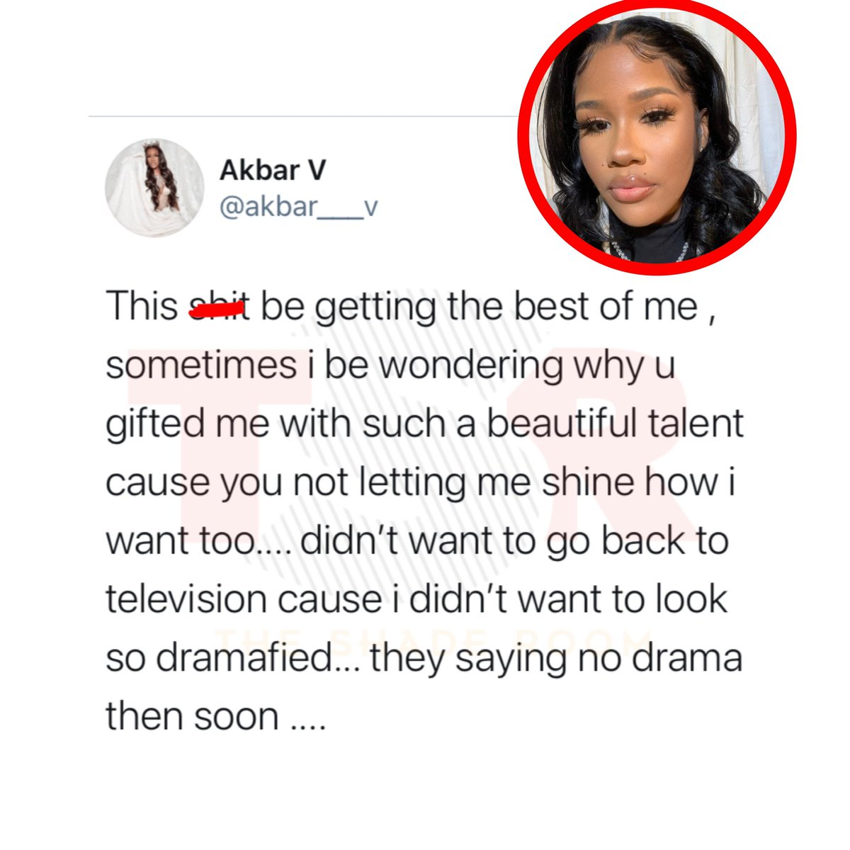 Akbar V speaks out about wanting her music to be taken seriously & staying away from the drama on #LHHATL