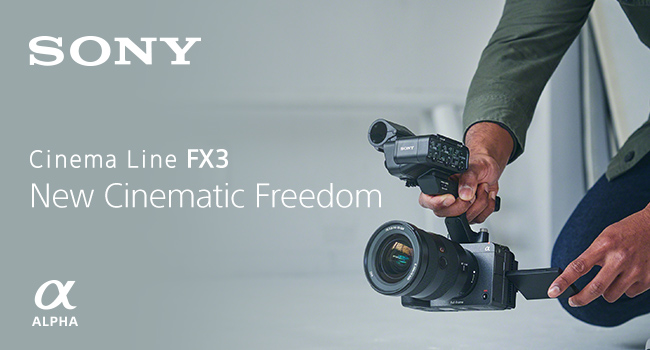 Designed for comfortable solo shooting.   Unlock the world of professional cinema with Sony FX3 Cinema Camera.    Pre-Order Now! https://t.co/CAguVEoGOg   @sonyaustralia #sony #fx3 #cinema #cinematography #videography #SonyFX3 https://t.co/l6WBKBQoDk