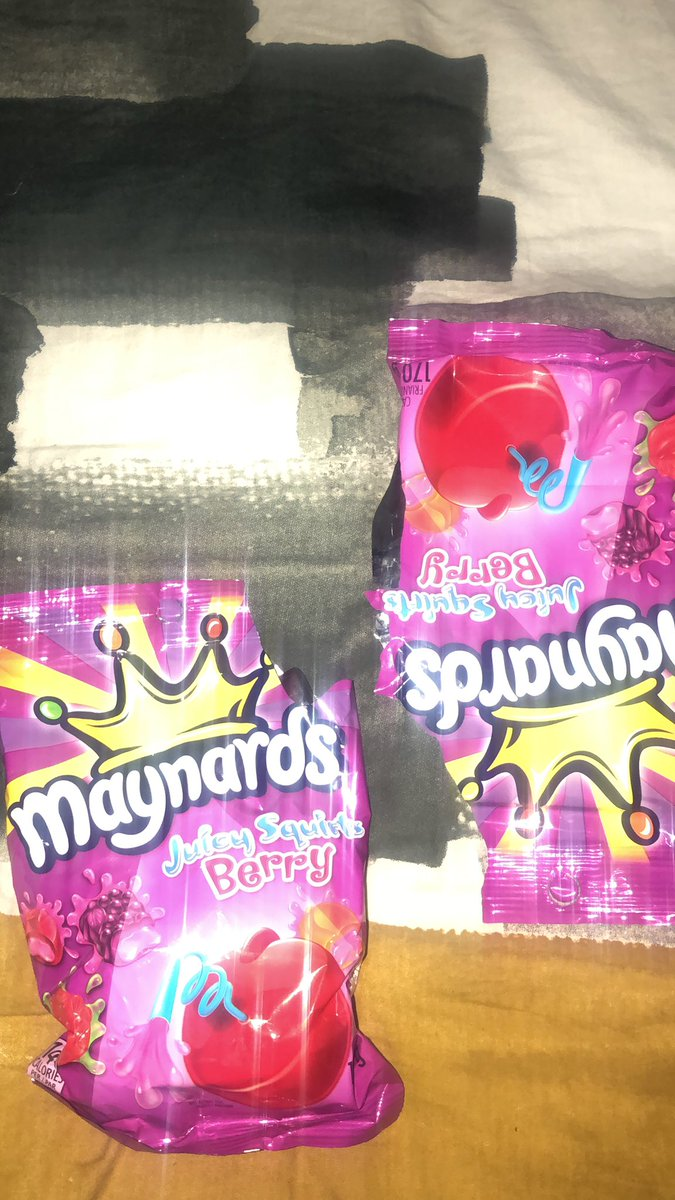 @MaynardsCandy you don't even know what the Juicy Squirts do to me! #BackToBack #grape 🤤🍬