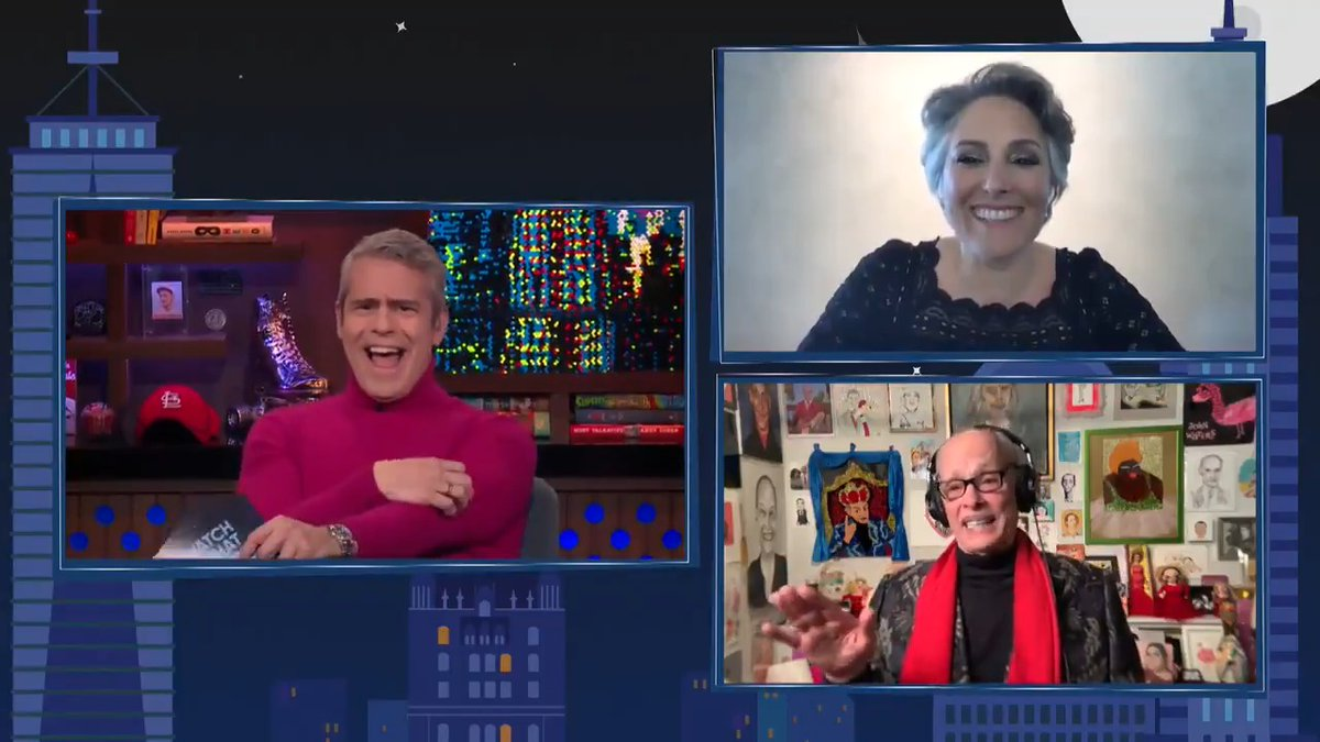 """""""I remember the casting call for that. You wanted the body of a goddess & the face of a mule."""" @RickiLake #WWHL"""