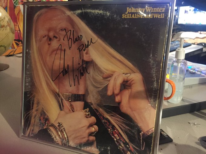 Happy Birthday anniversary to the late Johnny Winter.