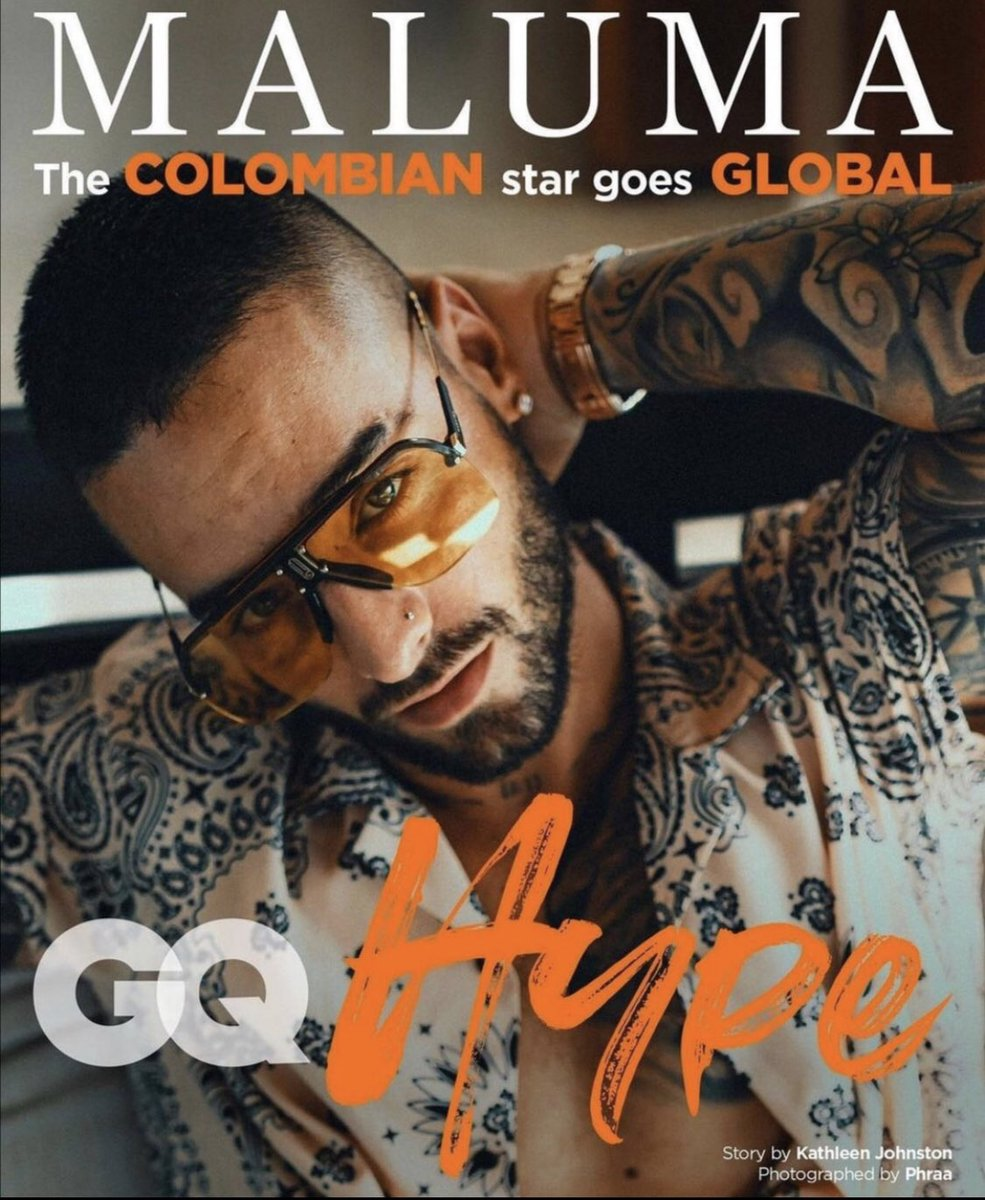 Replying to @jsanchezcristo: Colombianos globales, @maluma mundial