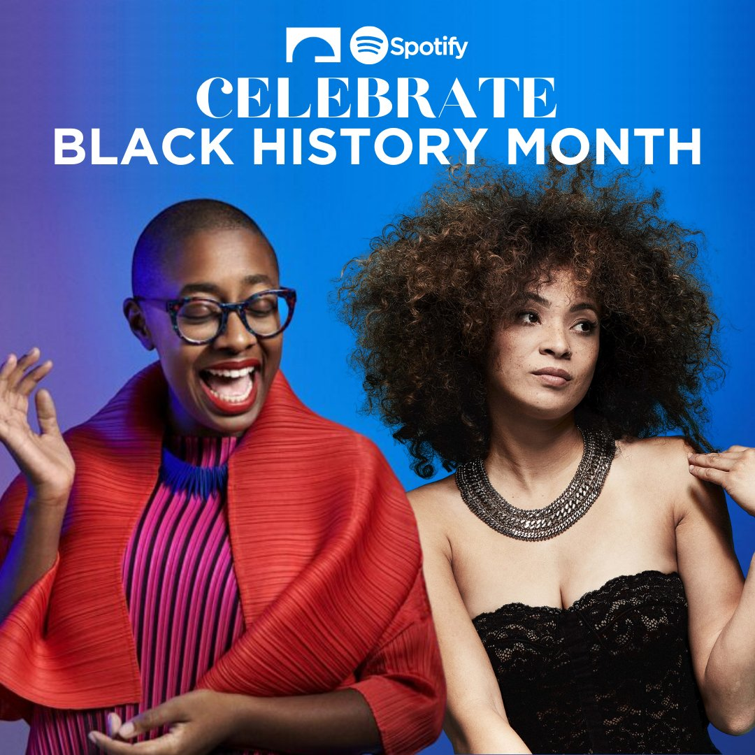 Celebrate #BlackHistoryMonth with a curated playlist highlighting and celebrating Black Artists. Listen now on our Spotify! 🎶 https://t.co/Zs35QRl25D https://t.co/QXP2LAsws3