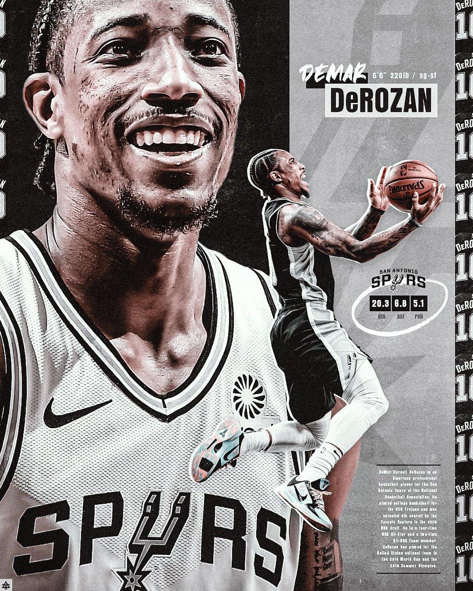 design for @DeMar_DeRozan & @spurs #smsports #nba #NBAAllStar #NBATwitter #GoSpursGo #demarderozan