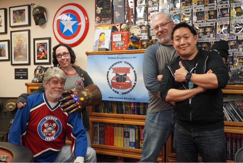 Pressing Matters, LLC is proud to be a sponsor of @ASUPodcaStudio - @mingchen37  & @michaelzapcic it was a pleasure podding with you tonight! Visit our Facebook to see