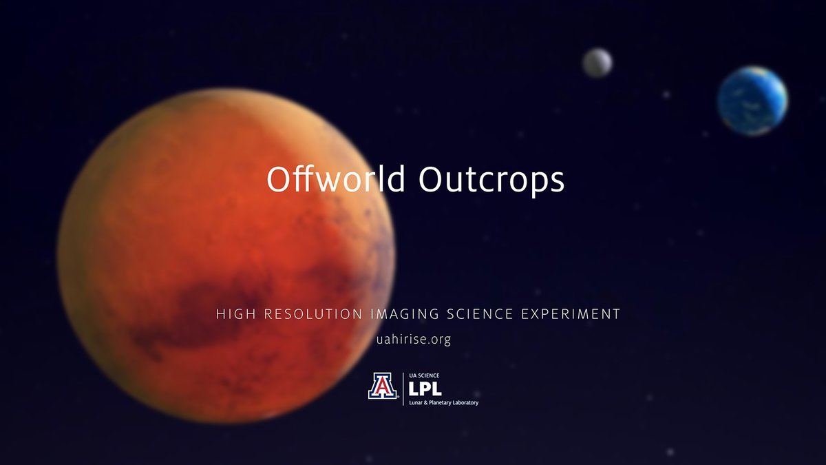 """HiClip mini 4K: Offworld Outcrops Accompanies our 4K image post. (This is a non-narrated clip.) Music: """"Redhead from Mars"""" by Silent Partner. youtu.be/E0-2rerZ4Io"""