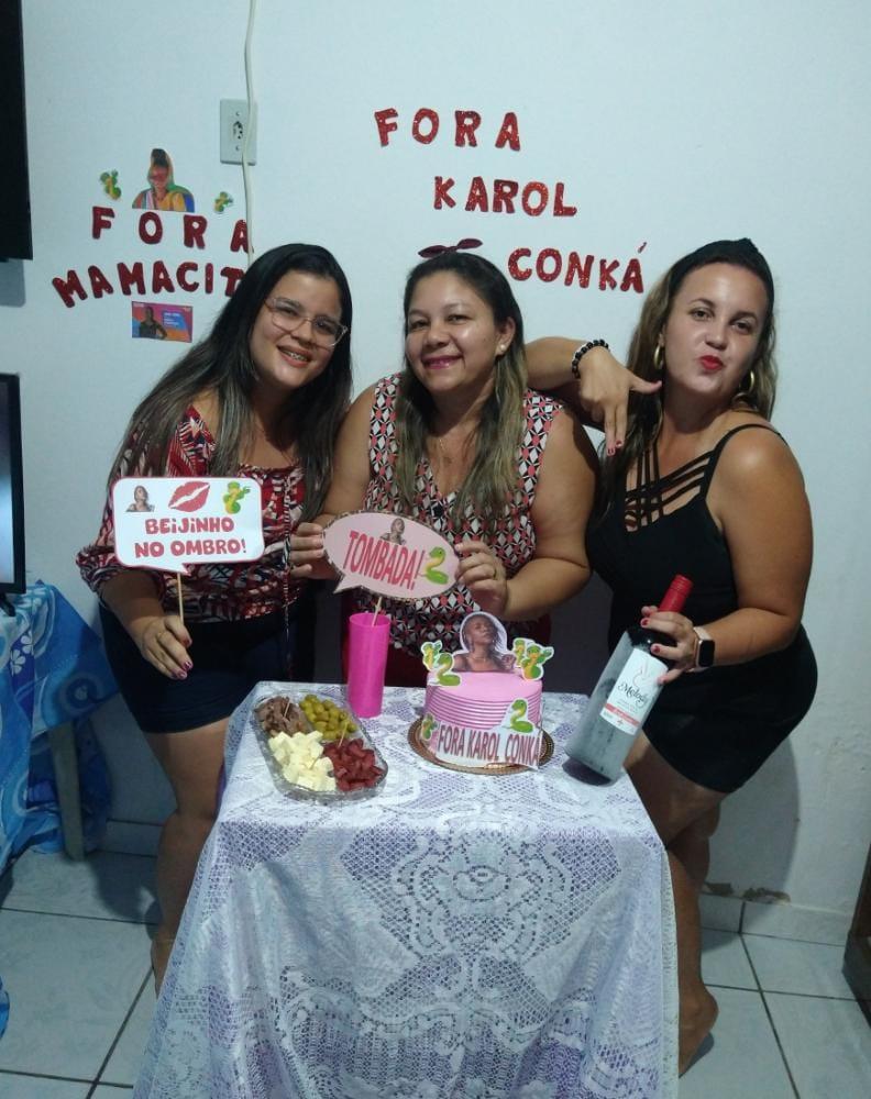 #ForaKobra  #ForaKarolConka  #mamacita  #ForaKarolSemk  #jaquepatomba  #karolcomka  #BBBB21  #EliminacaoBBB  #KarolNoParedao