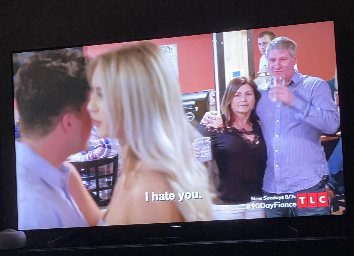Mom: they're so in love Yara: I hate you!  #dead #90DaysFiance @90DayFiance