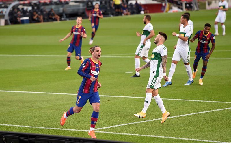 Barcelona chỉ thắng ¼ trận đấu gần nhất của mình và đỉnh điểm của sự thất vọng là màn trình diễn nhạt nhòa trước Cadiz vào cuối tuần rồi #soikeo #tinsoikeo #soikeohomnay #Barcelona #Elche https://t.co/fgXRFzoqEN https://t.co/11QjsZbRSx