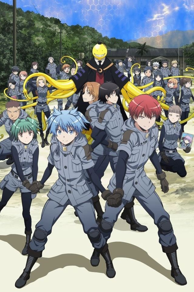 Anime recommendations part 21. Today is Assassination Classroom. This hilarious, but heartfelt anime is one I'm sure you're to enjoy showing a range of interesting personalities of characters that almost anyone can relate to. Available in sub and dub. #assassinationclassroom