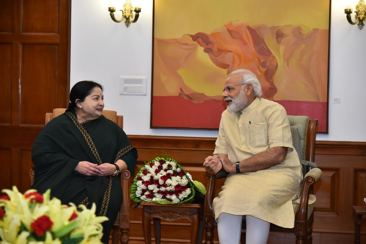 Remembering Jayalalithaa Ji on her birth anniversary. She is widely admired for her pro-people policies and efforts to empower the downtrodden. She also made noteworthy efforts to empower our Nari Shakti. I will always cherish my several interactions with her.