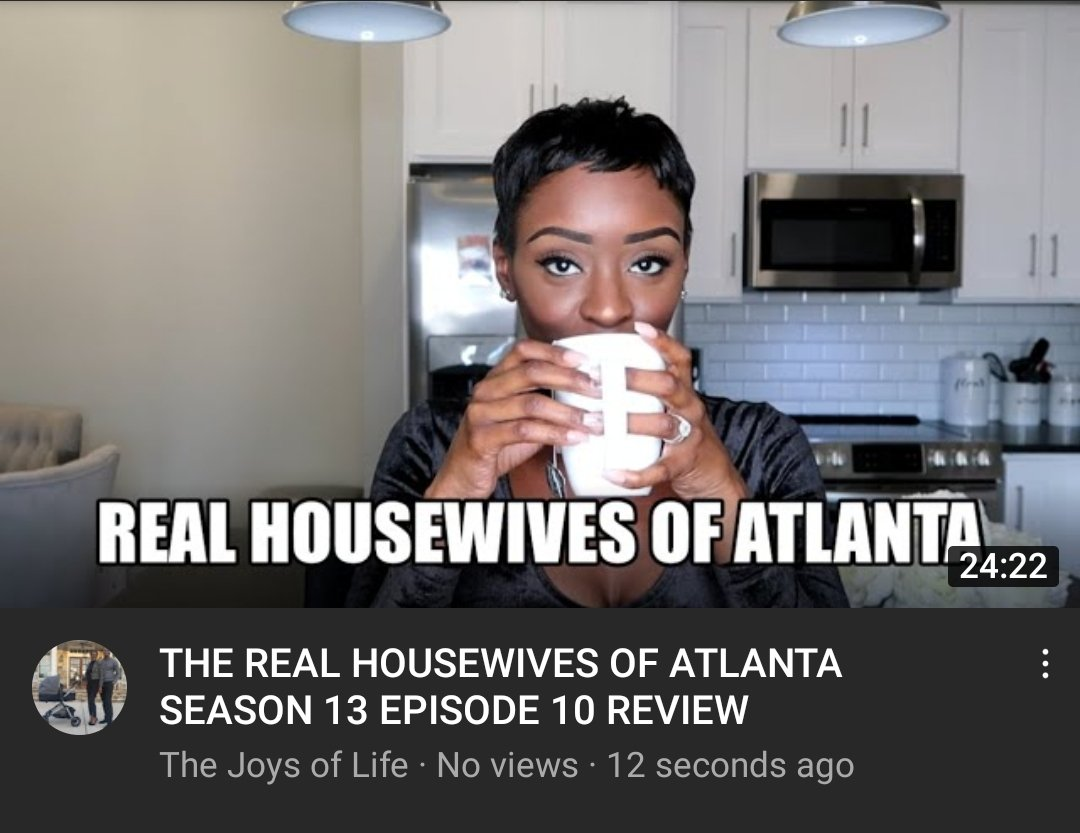 Here's my review 😆 Click the link👇🏿  #RHOA #RealHousewives #realhousewivesofatlanta #RealHousewivesofPotomac #housewives #bravo #bravotv #bravohousewives #review  #YouTube #youtuber  #RHOP #Atlanta #Potomac #subscribe