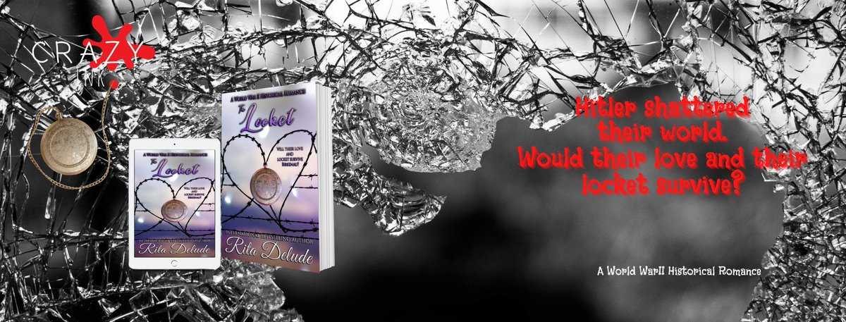 The Locket Rita Delude Will their love survive Hitler's hate?   #bookclubpo1 #HistoricalRomance #Holocaust #holocaustremembranceday #War #Romance     by #author_rita